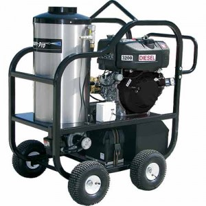 PressurePro Diesel Hot Water High Pressure Cleaning Unit 3200 PSI - 4 GPM #4012-15G