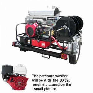 PressurePro Gas Pressure Washer 4000 PSI - 4 GPM #TR4012PRO-40HA