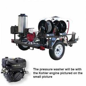 PressurePro Diesel Pressure Washer 3200 PSI - 4 GPM #TRS/4012-32KLDG