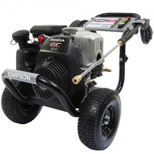 Simpson 3100 PSI Gas Pressure Washer MSH3125
