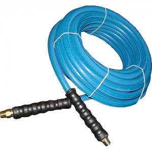 AR Braided rubber hose 100-Foot (3/8) 4000 PSI #AR1003840-BLU