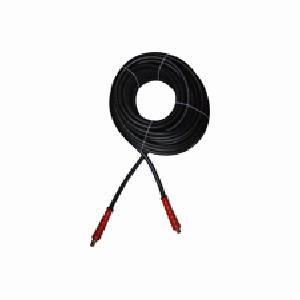 AR Hose (rigid x swivel end w.hose protectors) 50-Foot (3/8) 5400 PSI #AR503854-BLK