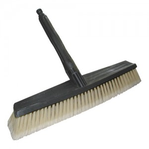 "AR Siding Deck Broom with 20"" Fixed Ext. with Adapters"